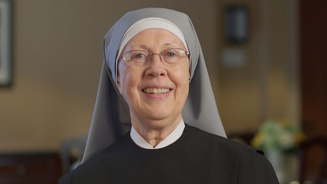 Mother Loraine Maguire of the Little Sisters of the Poor.