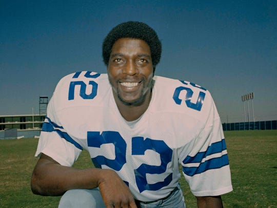 Bob Hayes is considered one of the top wide receivers in Cowboys history.