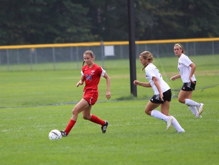 Fairport sophomore forward Claire Myers