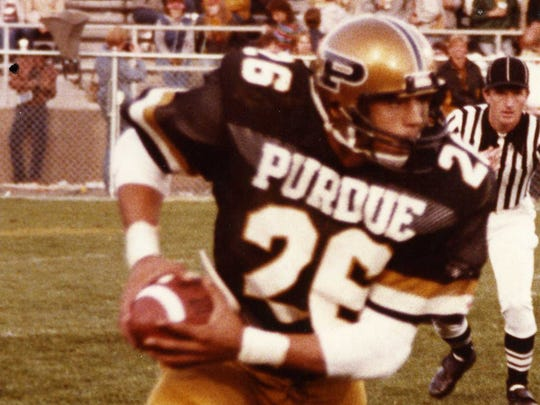 Rod Woodson starred for Purdue in the 1980s.