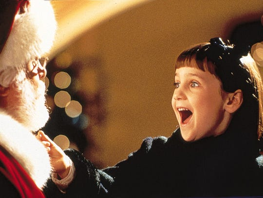 Richard Attenborough and Mara Wilson in 'Miracle on