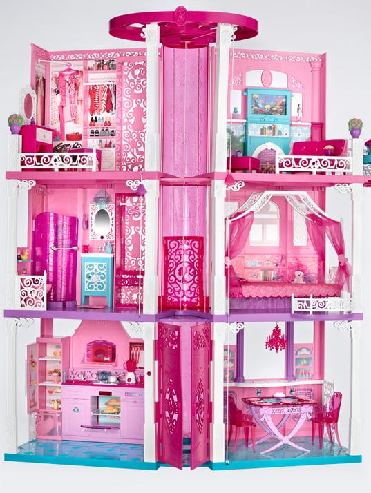 barbie in the house
