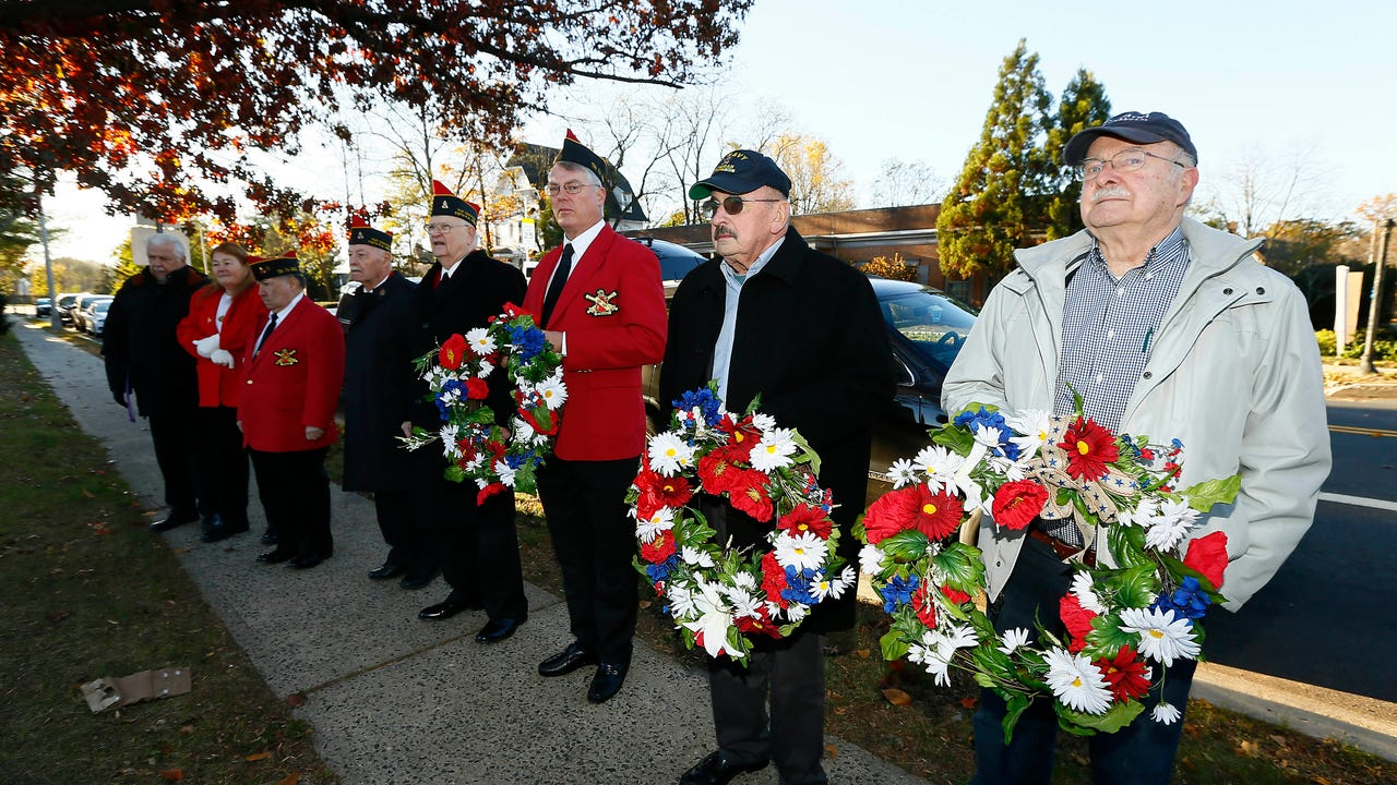 Veterans Day ceremonies held in Morristown and Morris Township on Saturday, Nov. 11, 2017.