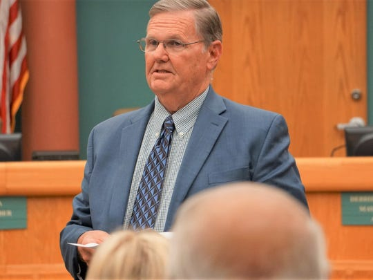 Corpus Christi Mayor Joe McComb announces his intention