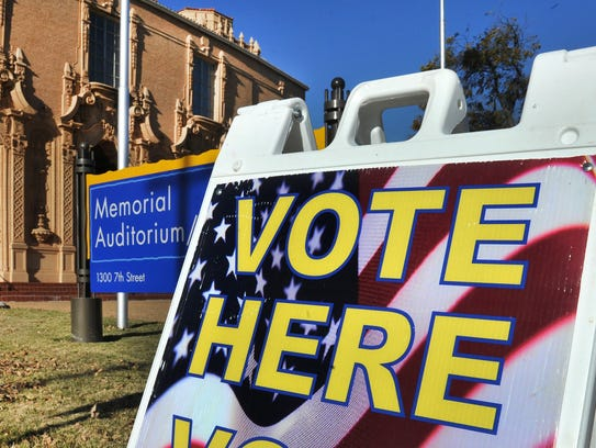 Early voting for the May city bond election will be