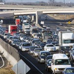 """Each weekday morning, drivers heading from New Jersey into New York City do battle in one of the most congested metropolitan regions in the country, where the term """"rush hour"""" is a cruel misnomer."""