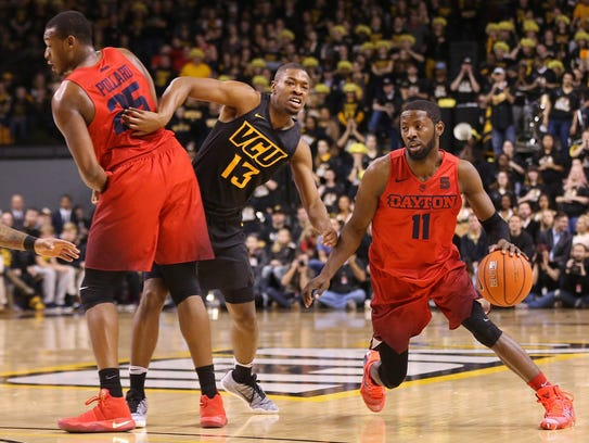 Both Dayton and VCU are at the top of the Atlantic