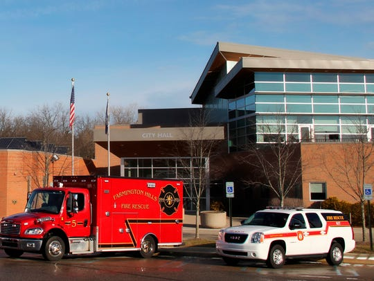Farmington Hills Fire Department