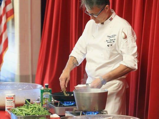 GABE HERNANDEZ/CALLER-TIMES Chef Dean Sprague from