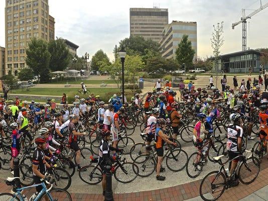 Gran Fondo Asheville photo by David Huff