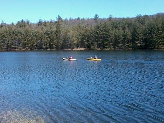 Long Pine Reservoir is a popular recreation spot.