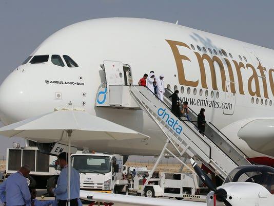 EPA (FILE) UAE ECONOMY EMIRATES EBF COMPANY INFORMATION ARE UA