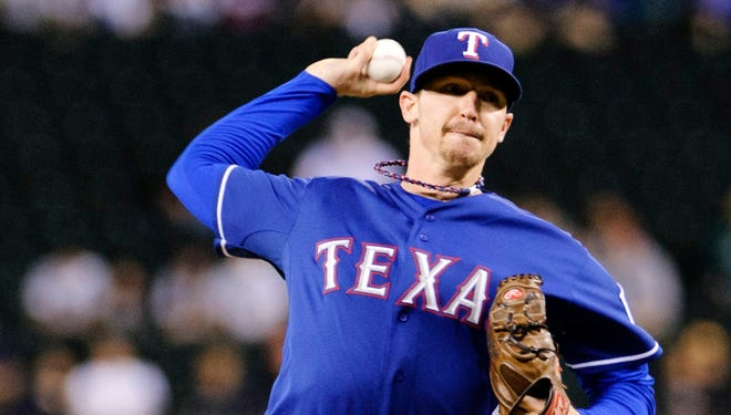 Tanner Scheppers will make his first major league start today for the Rangers, who have been hit hard by injuries.