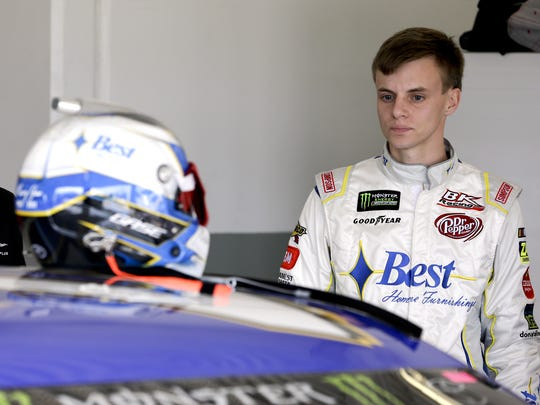 John Raoux/AP Joey Gase of Cedar Rapids will drive in Sunday?s Daytona 500 behind the wheel of BK Racing?s No. 23 Toyota. Joey Gase of Cedar Rapids will drive in Sunday's Daytona 500 behind the wheel of BK Racing's No. 23 Toyota.