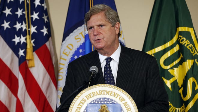 USDA Secretary Tom Vilsack (pictured in 2016 file photo) announced a new pandemic assistance initiative.