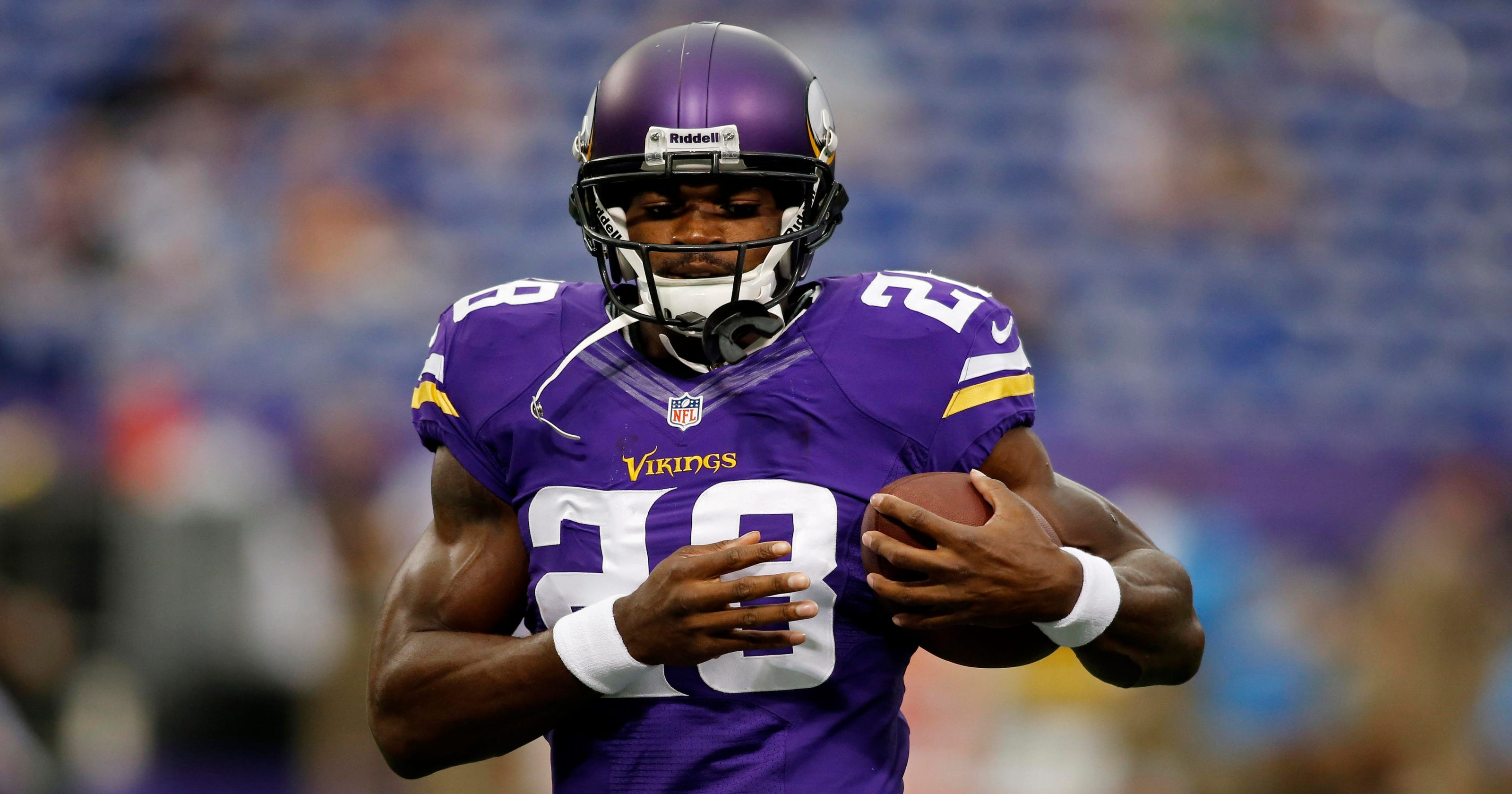 ff628bf07 Adrian Peterson suspended without pay rest of season