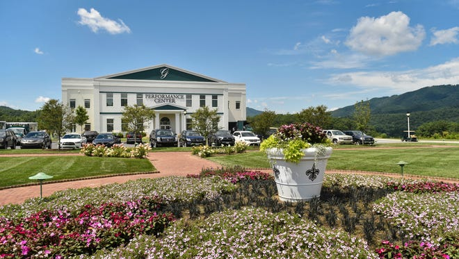 A view of The Greenbrier in White Sulphur Springs, W.Va.