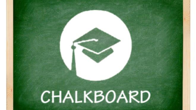 Chalkboard with Dave Breitenstein and Ashley A. Smith
