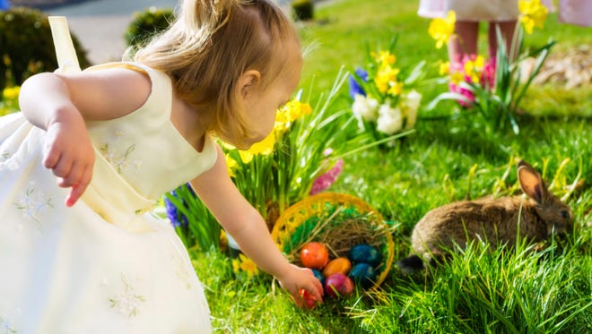 Easter egg hunts are among the many family-friendly events this weekend in Southwest Florida.