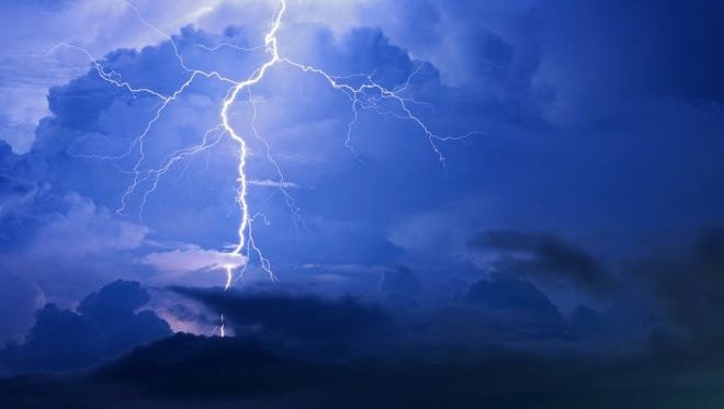 Rain, thunderstorms expected.