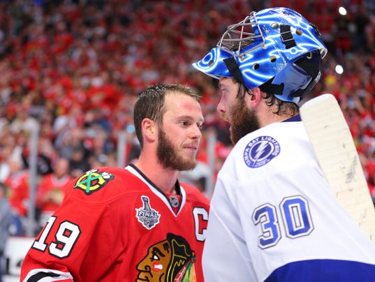 USP NHL: STANLEY CUP FINAL-TAMPA BAY LIGHTNING AT S HKN USA IL