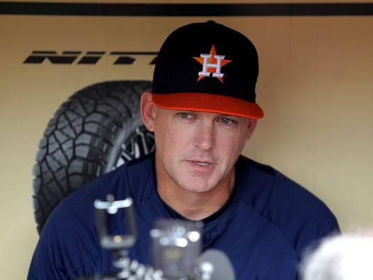 USP MLB: NEW YORK YANKEES AT HOUSTON ASTROS S BBA HOU NYY USA TX