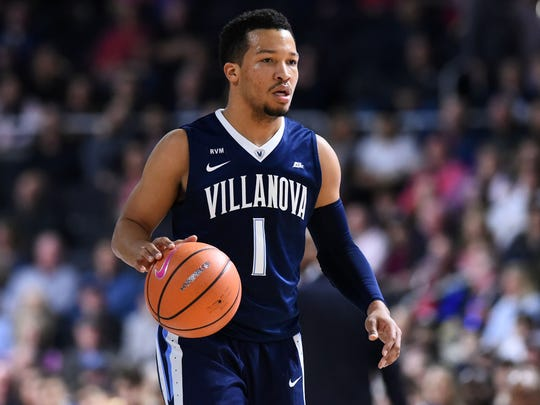 First team: Jalen Brunson, guard, Villanova.