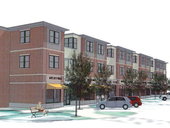 Williston has seen relatively rapid population growth compared to other Vermont towns since 2010, fueled in part by new housing. Here is an artist's rendering of Cottonwood Crossing in Williston.