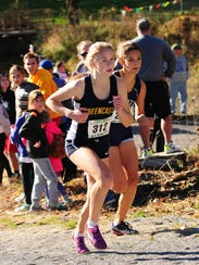 Greencastle-Antrim's Taryn Parks placed fourth in the
