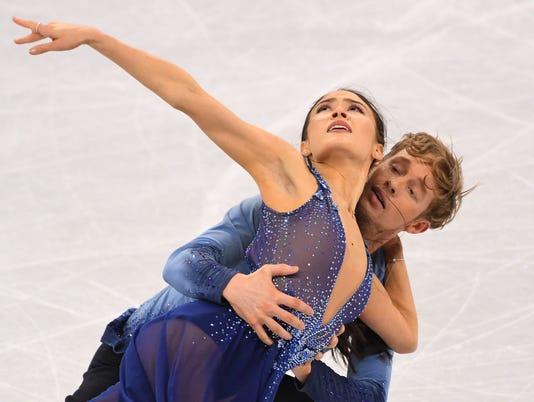 Olympics: Figure Skating-Training