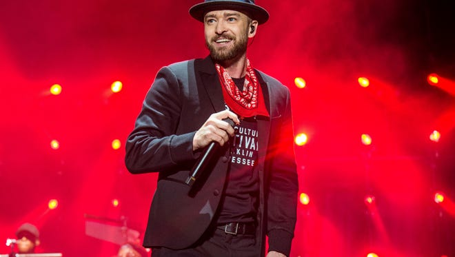 Justin Timberlake's fifth studio album 'Man of the Woods' is out Friday.