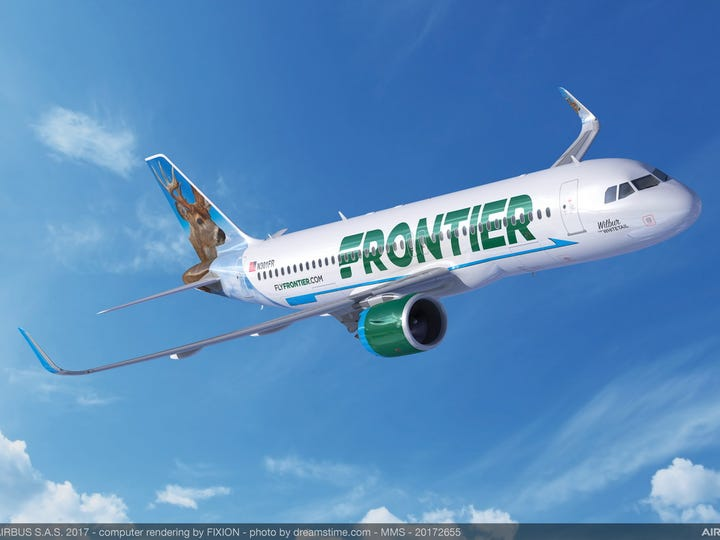 Frontier Airlines plans to start flying from Newark Airport this fall.