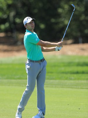 ORLANDO, FL - MARCH 17:  Sam Burns plays his shot on the first hole during the third round at the Arnold Palmer Invitational Presented By MasterCard at Bay Hill Club and Lodge on March 17, 2018 in Orlando, Florida.  (Photo by Sam Greenwood/Getty Images)
