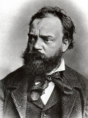 Composer Johannes Brahms was an inspiration and mentor to Antonin Dvořák (pictured) throughout his career, and Dvořák's admiration of Brahms' pathos-infused style is especially evident in his Seventh Symphony.