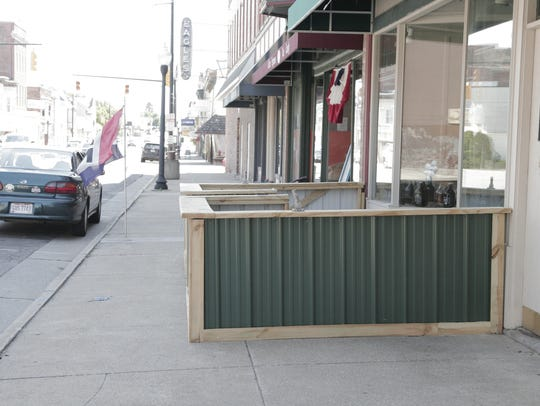 The City of Galion believes  the new patio outside