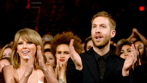 Taylor Swift and Calvin Harris have deleted social