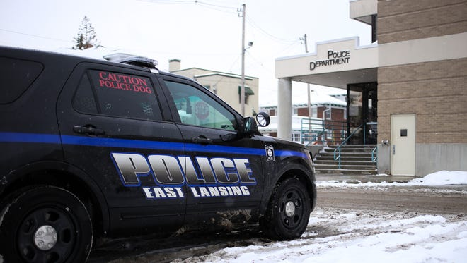 The East Lansing Police Department headquarters.