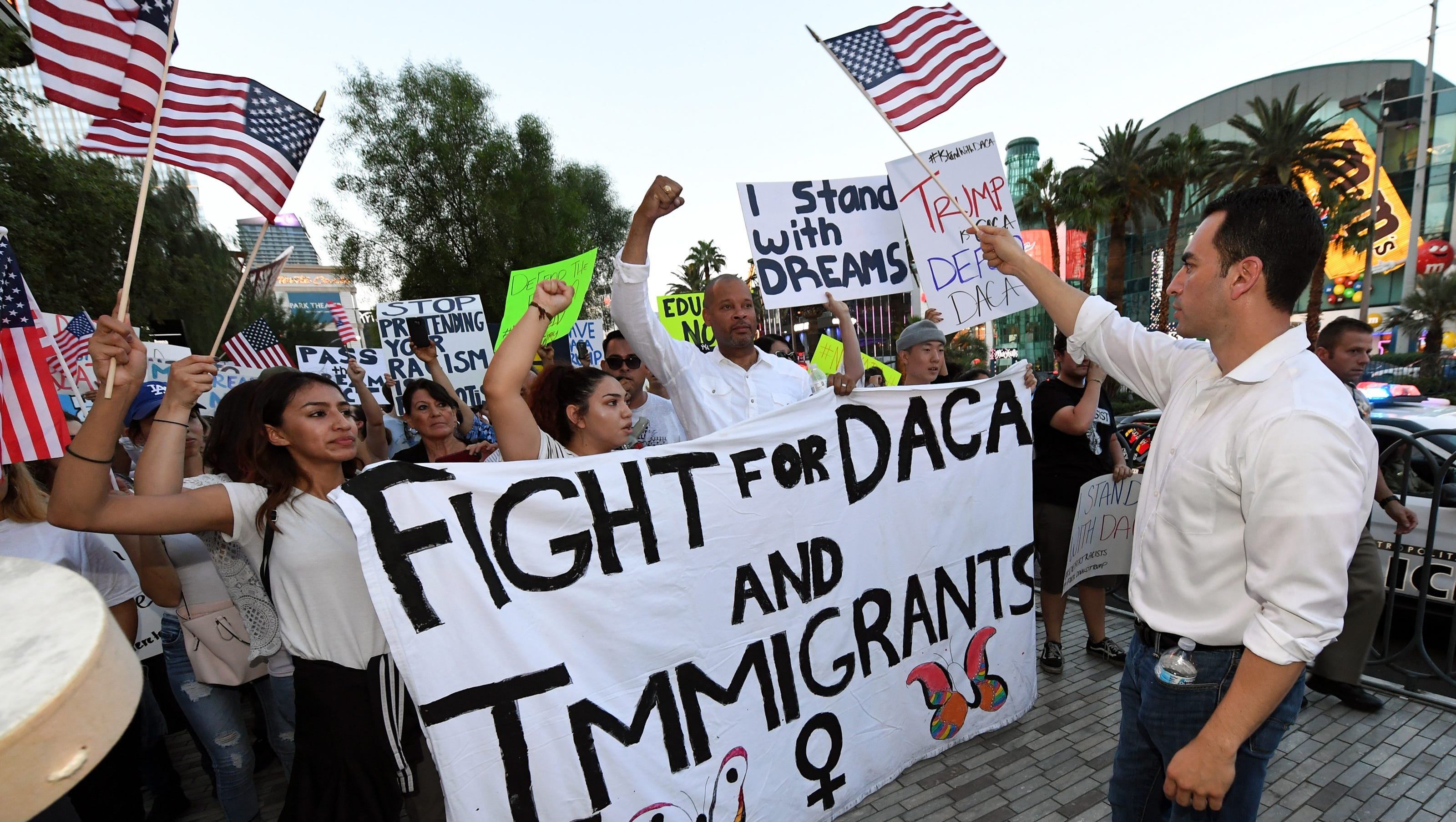 Image result for photos os daca protests