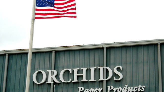 Orchids Paper Products announced Tuesday, March 7, 2017 that they will move their headquarters to Brentwood.