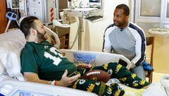 'That could be me': Packers' Randall Cobb visits patients to encourage organ donation