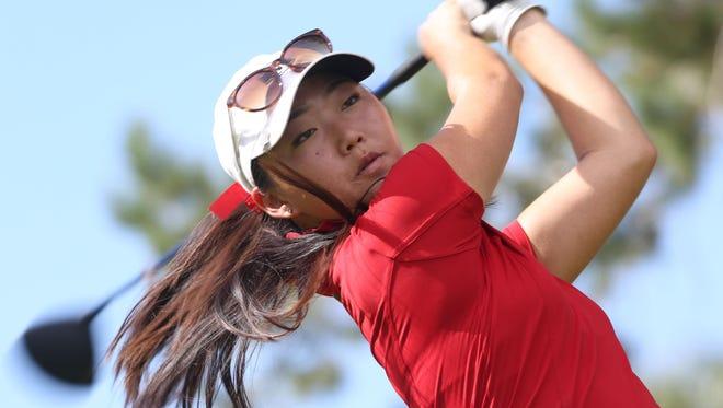Former Palm Desert High School star Jiyoon Jang is now a key member of the Cal Bears women's golf team.