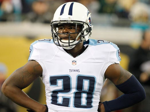 Titans strong safety Marqueston Huff.