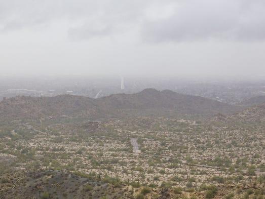 Actualmente en Phoenix la temperatura es de 52 grados.