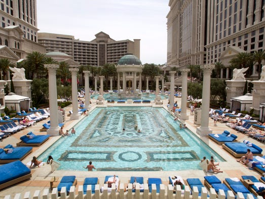 Las vegas casino workers could strike for first time in for Garden of gods pool oasis