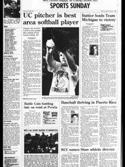 Battle Creek Sports History - This week in July 22,