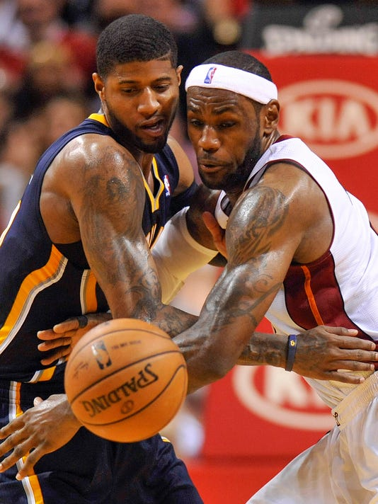 LeBron James, Heat remind Pacers who the champs are
