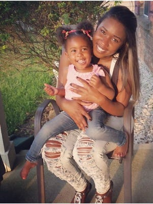 Ebony Roberts and her daughter Laila are headed to the Sunburst International Beauty Pageant in Atlanta on Thursday where Laila will compete for a grand prize of $10,000.