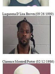 Clarence Montrell Porter, 31 of Chattanooga, and Chistopher