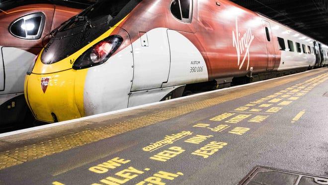A Virgin Trains train in the U.K.