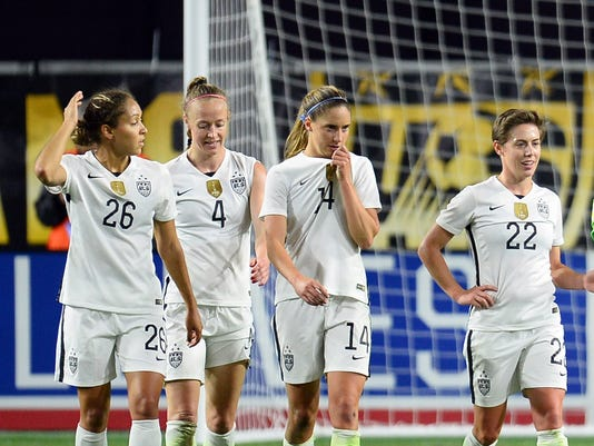 Soccer: Women's World Cup Victory Tour-China PR at USA